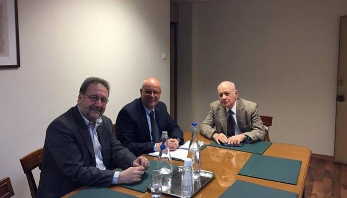 Συναντήσεις του Δημάρχου Χανίων στην Αθήνα