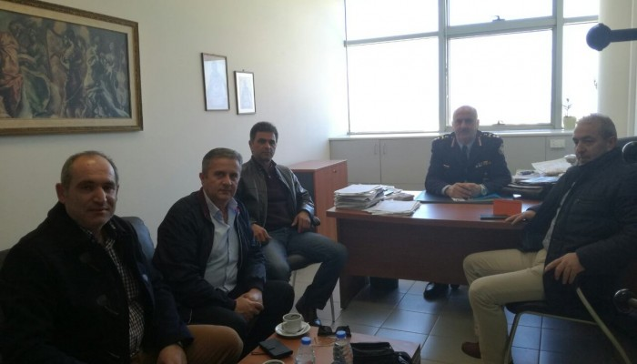 Συνάντηση Βαρδάκη με τον Γενικό Περιφερειακό Αστυνομικό Διευθυντή Κρήτης