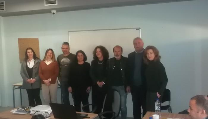 Το σχολείο δεύτερης ευκαιρίας επισκέφθηκε ο Α. Βουλγαράκης