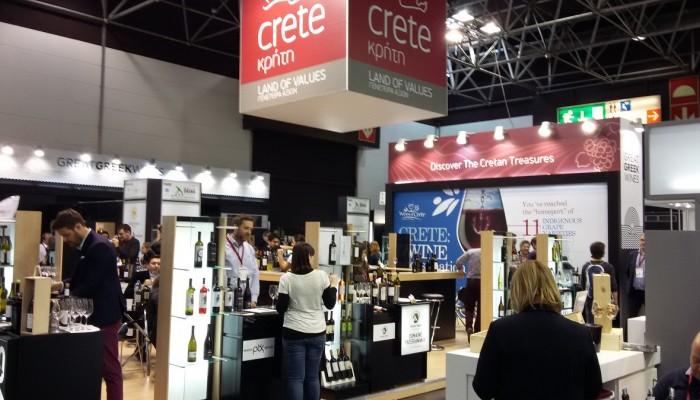 Οι Οινοποιοί της Κρήτης στην μεγαλύτερη Διεθνή έκθεση κρασιού PROWEIN.