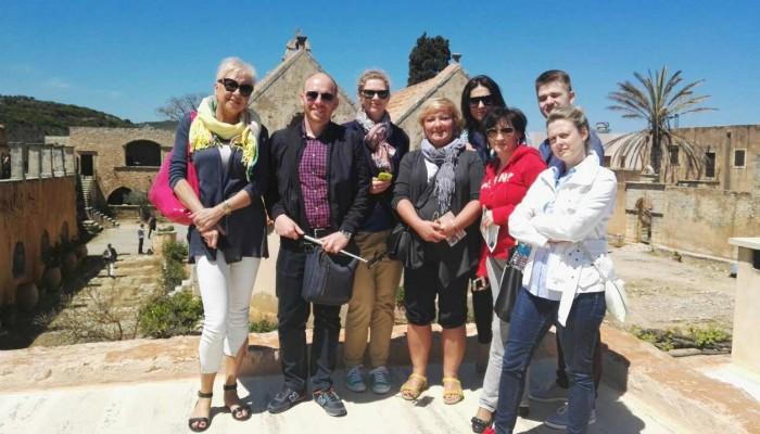 Πολωνοί τουριστικοί πράκτορες στο Ρέθυμνο