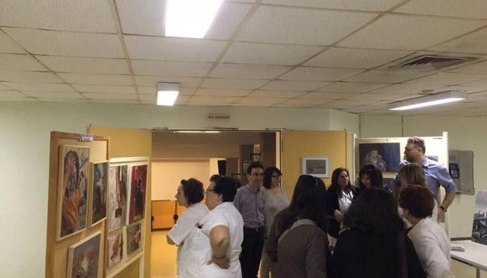 Έκθεση ζωγραφικής για την Εργατική Πρωτομαγιά στο ΠΑΓΝΗ