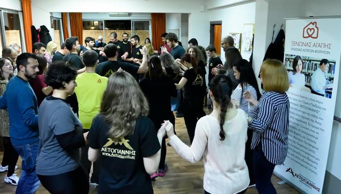 Με μεγάλη συμμετοχή το εορταστικό παζάρι στον Όμιλο «Αετογιάννης»