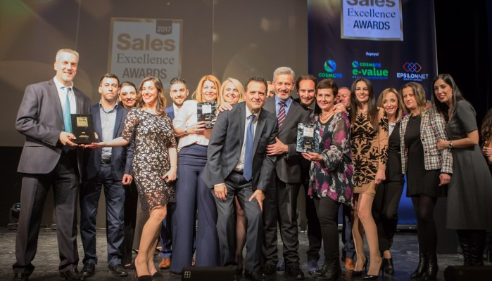 COSMOTE e-Value: 3 βραβεία στα Sales Excellence Awards 2017