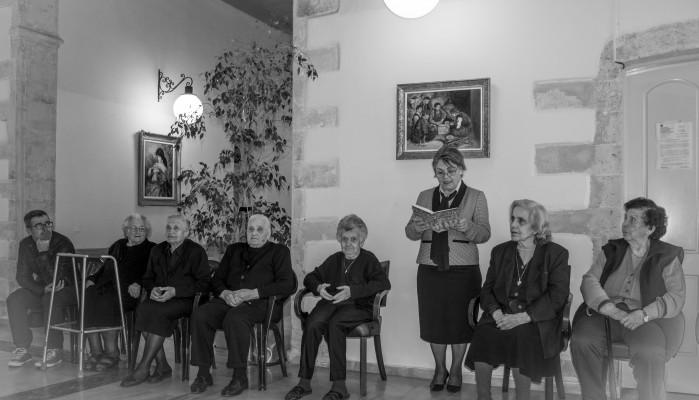 Γιορτάστηκε η παγκόσμια μέρα βιβλίου στο δημοτικό γηροκομείο Χανίων