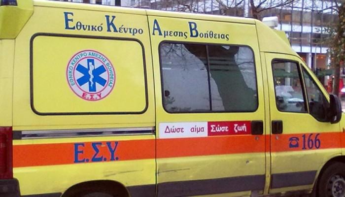 Βρέφος διεκομίσθη στο νοσοκομείο μετά απο πτώση απο ύψος