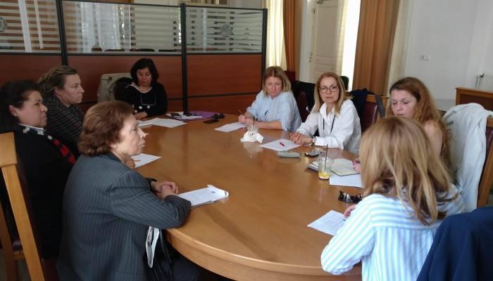 Συνεδρίασε η Επιτροπή Ισότητας του Δήμου Ηρακλείου