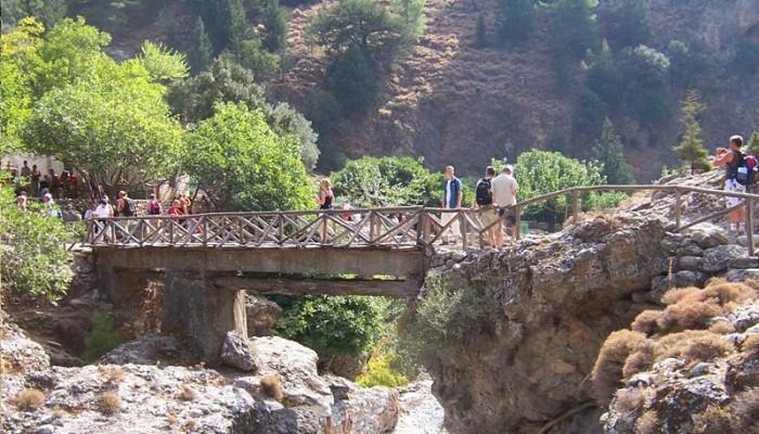 Αυξημένες οι επισκέψεις στο φαράγγι της Σαμαριάς και τον Ιούλιο