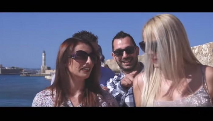 Ζευγάρι στα Χανιά έκανε το βίντεο του γάμου του... βίντεο κλιπ!