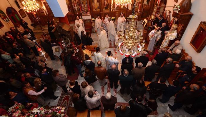 Αρχιερατικός Εσπερινός στα Χανιά,για τους Αγίους Ραφαήλ, Νικόλαο και Ειρήνη