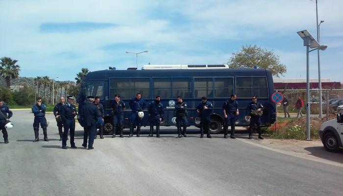 Η ΝΕ Χανίων ΣΥΡΙΖΑ κατα των αστυνομικών μέτρων στο αεροδρόμιο Χανίων