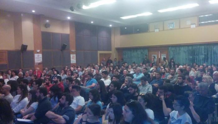 Με επιτυχία η εκδήλωση του ΚΚΕ Ηρακλείου για τα 50 χρόνια από τη χούντα