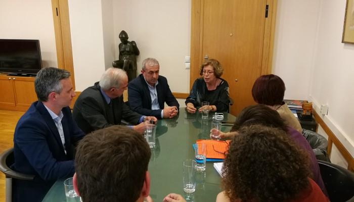 Με την Γ.Γ. του Υπ. Πολιτισμού συναντήθηκε ο δήμαρχος Ηρακλείου