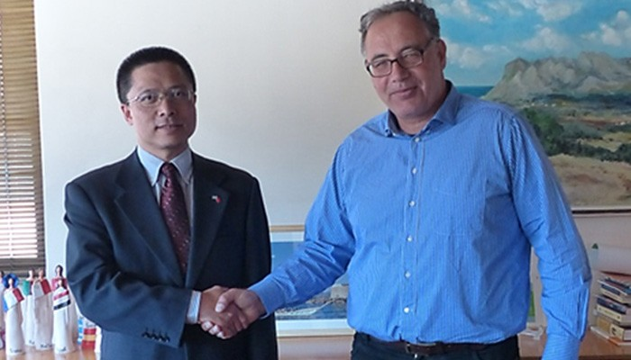 Στο ΜΑΙΧ ο Πρέσβης της Λαϊκής Δημοκρατίας της Κίνας