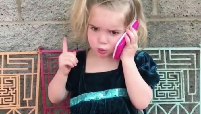 Αυτός ο... τηλεφωνικός καυγάς πεντάχρονης με το αγόρι της έχει γίνει viral!