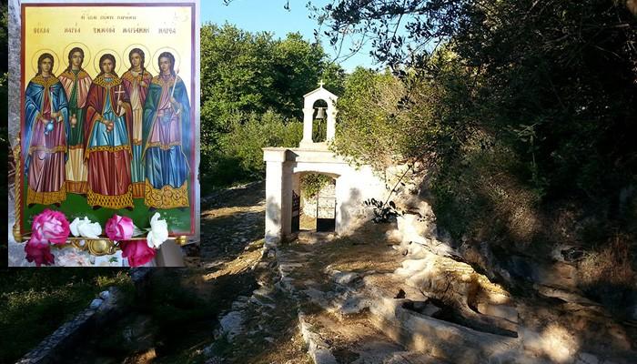 Το Σάββατο στην Αργυρούπολη η γιορτή των Αγίων Πέντε Παρθένων
