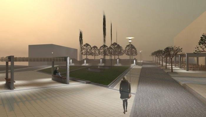 Πώς θα είναι η πλατεία Σούδας σύμφωνα με μελέτη