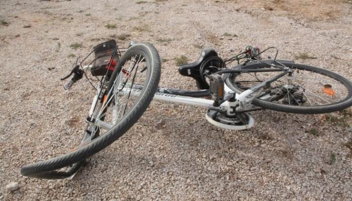 Τροχαίο ατύχημα με ποδηλάτη στη λεωφόρο Σούδας