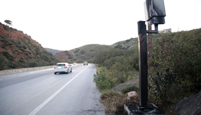 Έκαψαν φωτογραφικό ραντάρ στον ΒΟΑΚ