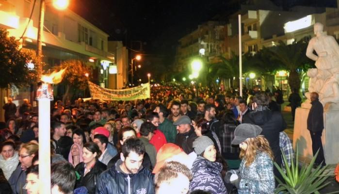 Συλλαλητήριο φορέων στην Ιεράπετρα