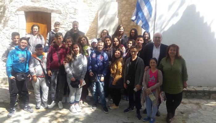 Επίσκεψη του Γυμνασίου Κεφάλου της Κω στον Δήμο  Βιάννου