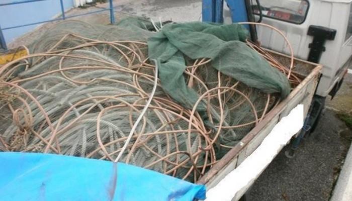Ηράκλειο:Επιχείρησαν να βγάλουν 500 κιλά χαλκού με το πλοίο της γραμμής
