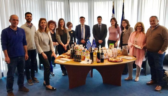 Eπιχειρηματική αποστολή μελών του Επιμελητηρίου Χανίων στις Βρυξέλλες