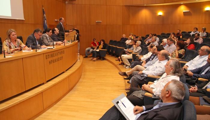 Η ενημερωτική εκδήλωση για τα κόκκινα δάνεια στο Ηράκλειο