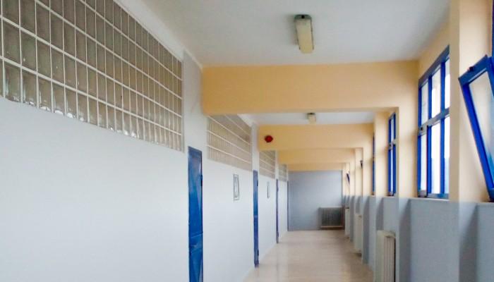 Αποκατάσταση ζημιών από το Δήμο στο Γυμνάσιο-Λύκειο Οροπεδίου Λασιθίου