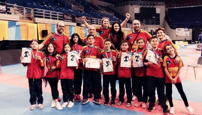 5 μετάλλια ο ΑΣ Κρήτες στο 7ο αγωνιστικό φεστιβάλ kim&liu