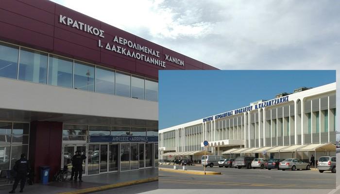 Νέα σημαντική αύξηση της κίνησης στα αεροδρόμια της Κρήτης