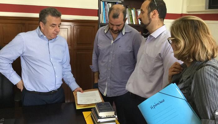 Ο Αρναουτάκης απο τα Χανιά για έργα υποδομής & ανάπτυξης στην Κρήτη
