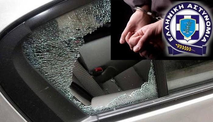 Μπαράζ διαρρήξεων αυτοκινήτων στην οδό Πειραιώς στα Χανιά - Δύο οι δράστες