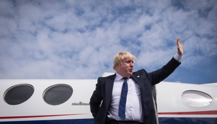 Στην Κρήτη ο Βρετανός Υπ. Εξωτερικών Μπόρις Τζόνσον