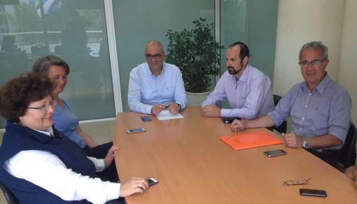 Σύσκεψη για πολεοδομικά ζητήματα στην Υπηρεσία Δόμησης του Δήμου Χανίων