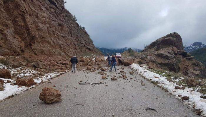 Κλειστός ο δρόμος Θερίσου - Ζούρβας λόγω κατολισθήσεων