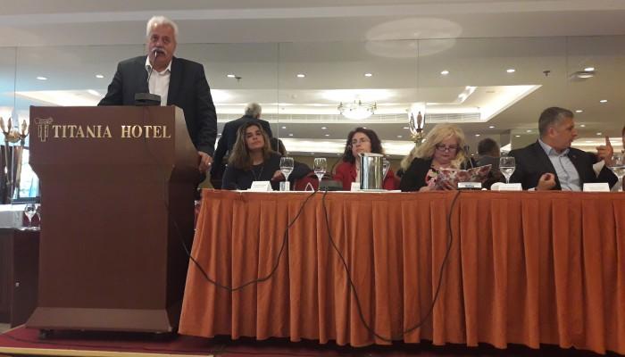 Σε εκδήλωση για τα αδέσποτα ο δήμαρχος Αποκορώνου