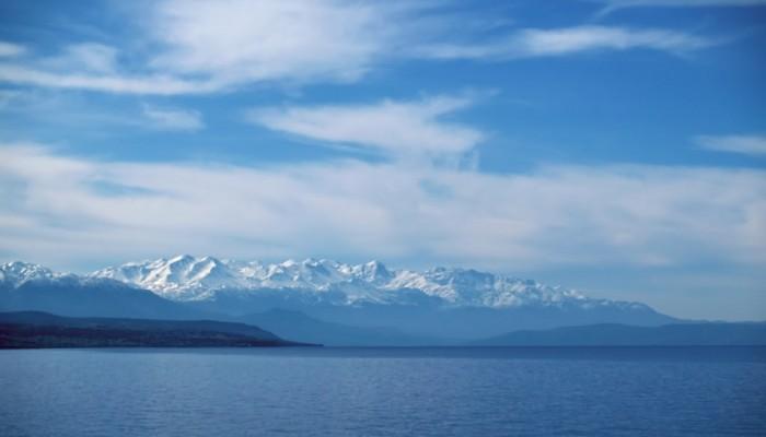 Τα Λευκά Όρη φαίνονται από τη Νάξο - Απόσταση 234 χλμ! (φωτό)