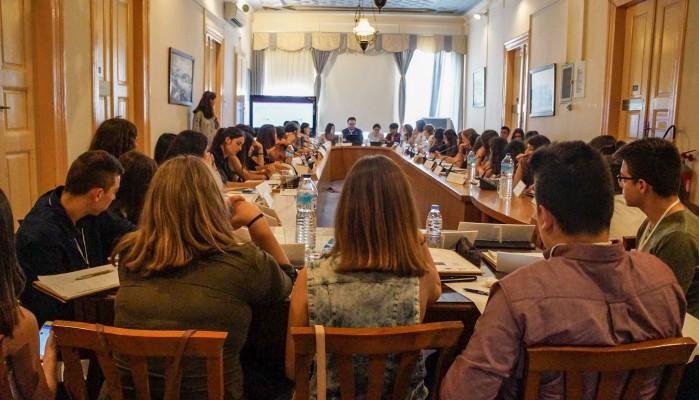 Σε δράση προσομοίωσης συνεδρίασης του Ε.Κ μαθητές του Λυκείου Τζερμιάδων