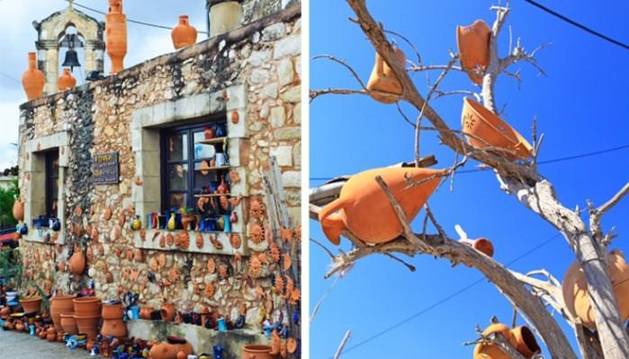 Οι «πολύχρωμες» Μαργαρίτες, το χωριό των κεραμοποιών στον Ψηλορείτη