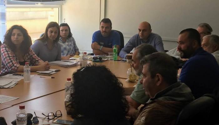 Σύσκεψη στο Παγκρήτιο για την 1η Περιφερειακή Μαθητιάδα Κρήτης