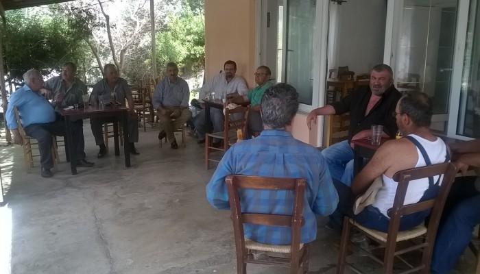 Η μείζων αντιπολίτευση του δήμου Πλατανιά στον οικισμό της Λίμνης Ζουνακίου