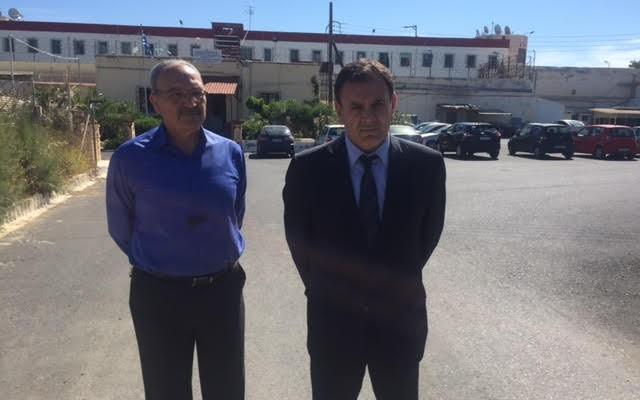 Επίσκεψη Τομεάρχη Δικαιοσύνης Ν.Δ. στις Φυλακές Αλικαρνασσού και Νεάπολης