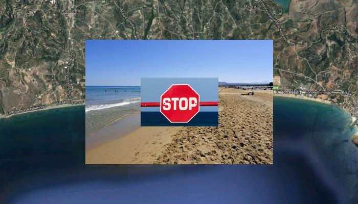 «Απαγορεύουν» τον τουρισμό στην μεγαλύτερη παραλία των Χανίων