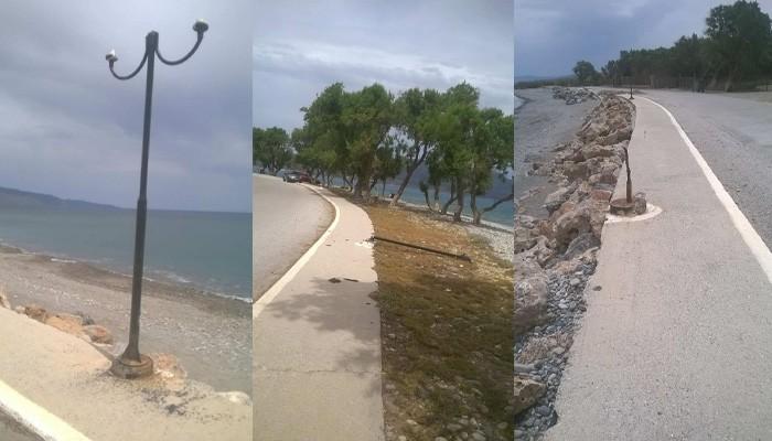 Καταγγελία Μ.Ντουντουλάκη για την παραλία Ταυρωνίτη