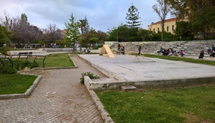 Πώς προτείνουν να ανακατασκευαστεί το Πάρκο Ειρήνης και Φιλίας στα Χανιά