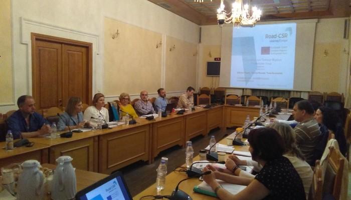 Πρώτη συνάντηση για το έργο Road-CSR στην Περιφέρεια Κρήτης
