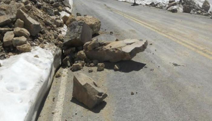 Κίνδυνος πτώσης βράχων στην περιοχή Παλέ –Σελλιά – Ροδάκινο