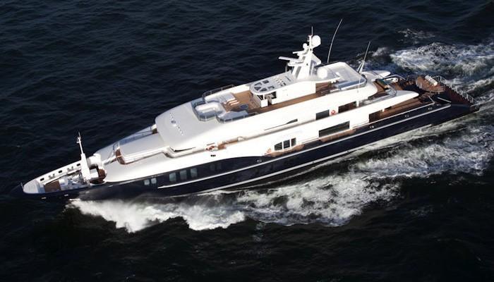 Στα Χανιά το Super Yacht του πλουσιότερου Έλληνα στον κόσμο