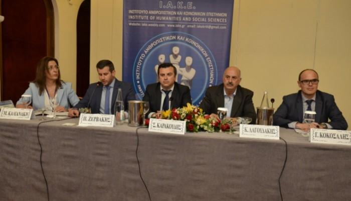 Με επιτυχία το συμπόσιο της Ένωσης Αξιωματικών ΕΛ.ΑΣ.